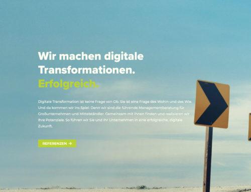 Neue Webseite von doubleYUU macht klar: Wir machen digitale Transformation. Erfolgreich.