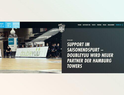 Hamburg Towers | Support im Saisonendspurt – doubleYUU wird neuer Partner der Hamburg Towers